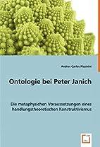 Ontologie bei Peter Janich: Die…