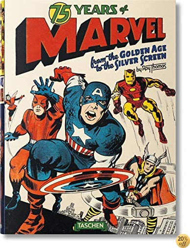 T75 Years of Marvel Comics XL: From the Golden Age to the Silver Screen