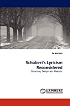 Schubert's Lyricism Reconsidered:…