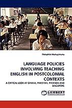 LANGUAGE POLICIES INVOLVING TEACHING ENGLISH…