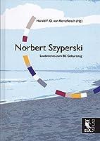 Norbert Szyperski: Laudationes zum 80.…