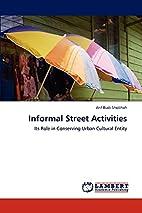 Informal Street Activities: Its Role in…
