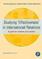 Studying 'Effectiveness' in International…