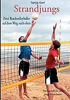 Strandjungs: Zwei Beachvolleyballer auf dem…