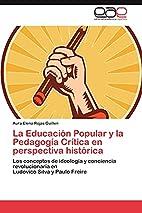 La Educación Popular y la…