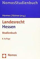 Landesrecht Hessen: Studienbuch by Georg…