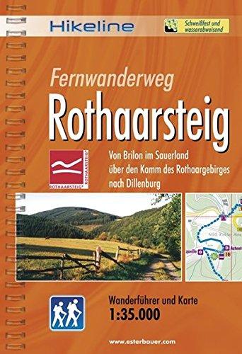 hikeline-fernwanderweg-rothaarsteig-160-km-von-brilon-im-sauerland-uber-den-kamm-des-rothaargebirges-nach-dillenburg-wanderfuhrer-und-karte-1-35-000-wetterfest