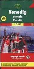 Venice, Italy Street Map (English, French,…