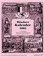 Bündner Kalender 2005