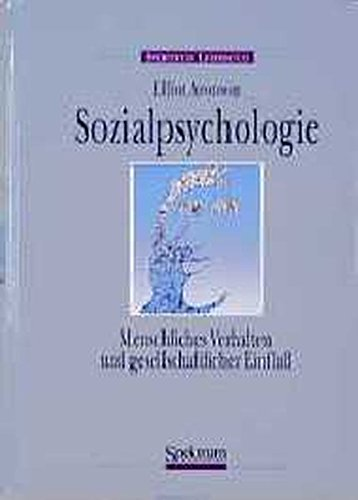 sozialpsychologie-german-edition