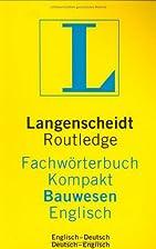 Routledge Langenscheidts Fachwörterbuch…