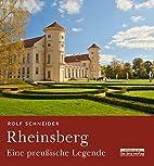 Rheinsberg by Rolf Schneider