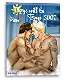 Joe Phillips: Boys will be Boys 2007. Wandkalender