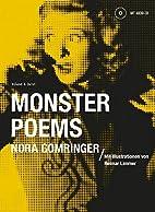 Monster Poems by Nora Gomringer
