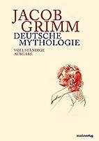 Teutonic Mythology {set} by Jacob Grimm