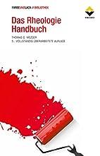 Das Rheologie Handbuch: Für Anwender von…
