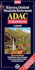 ADAC Karte, Kärnten, Osttirol, Westliche…