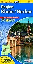ADFC-Regionalkarte Rhein / Neckar 1 : 75 000…