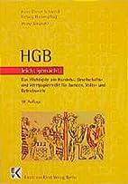 HGB leicht gemacht by Heinz Nawratil
