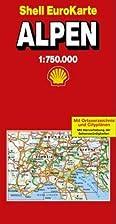 Alpen 1 : 750 000 (Die Große Shell…