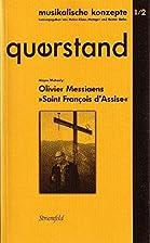 Messiaens Saint François d'Assise by…