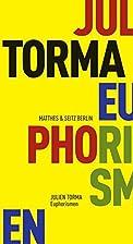 Euphorismen by Julien Torma