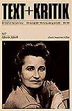Elfriede Jelinek: Elfriede Jelinek. Text u. Kritik,  Band 117