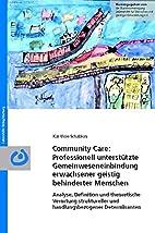 Community care: Professionell…