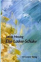 Else Lasker-Schüler : Biographie einer…
