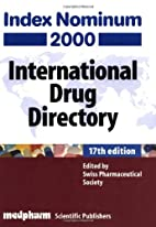 Index Nominum 2000: International Drug…