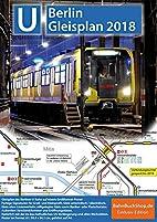 Gleisplan U-Bahn Berlin 2014/2015: Poster…