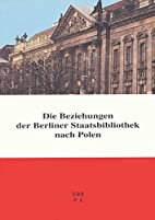 Die Beziehungen der Berliner…