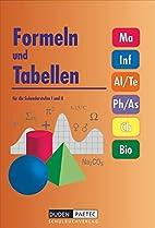 Formeln und Tabellen für die…