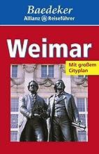 Baedeker Allianz Reiseführer Weimar by…