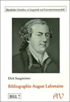 Bibliographie August Lafontaine by Dirk…