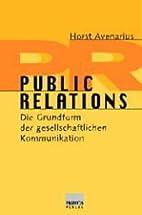 Public Relations by Horst Avenarius