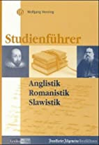 Studienführer, Anglistik/Amerikanistik,…