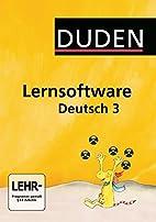Duden Lernsoftware Deutsch 3