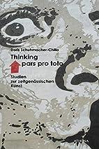 Thinking pars pro toto: Studien zur…