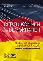 Reden können in der Demokratie 1: Studien-…