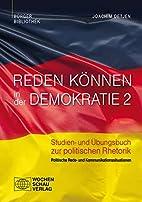 Reden können in der Demokratie 2: Studien-…