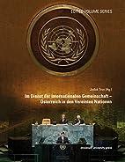 Im Dienst der internationalen Gemeinschaft -…