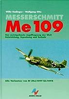MESSERSCHMITT ME 109, ALLE VARIANTEN VON DER…