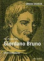 Giordano Bruno by Anne Eusterschulte
