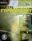Typography-Web Works (avec CD) by Jason…