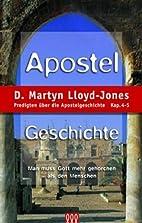 Apostelgeschichte Band 2: Predigten über…