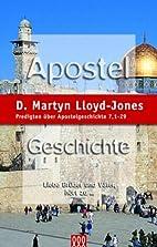 Apostelgeschichte Band 4: Predigten über…