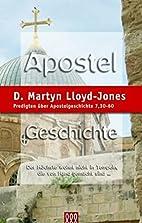 Apostelgeschichte Band 5: Predigten über…