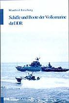Schiffe und Boote der Volksmarine der DDR by…