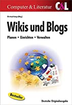 Wikis und Blogs by Christoph Lange